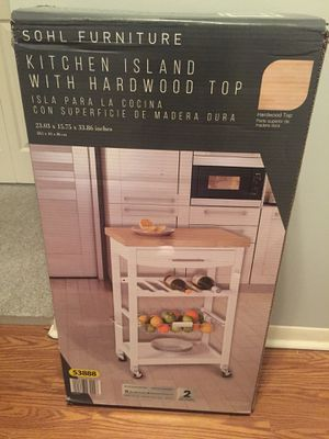 Kitchen island/cart- BNIB for Sale in Palatine, IL