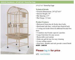 """Brand new in box 24"""" bird cage for Sale in Miami, FL"""