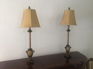 Set of 2 lamps for Sale in Miami, FL