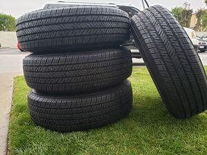Set of 4 bridgueton dueler tires 245 75 R 17 for Sale in El Cajon, CA