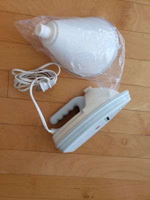 Clothes Steam Iron and Facial Nasal Steamer for Sale in Miami, FL