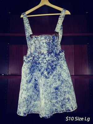 Blue jean overalls dress for Sale in Lilburn, GA