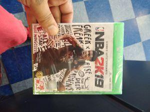 Xbox One X NBA 2K 19 for Sale in Dallas, TX