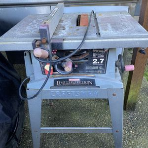 Table Saw for Sale in Bonney Lake, WA