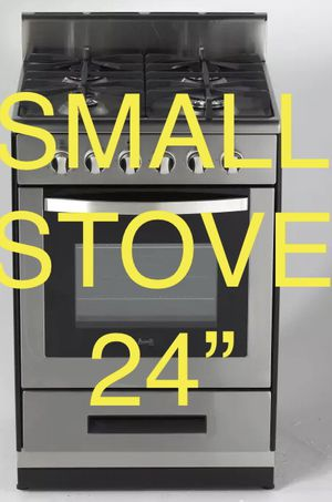"""Small stove 24"""" stainless steel for Sale in Commerce, CA"""