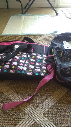 Hello Kitty backpack and hello Kitty diaper bag pick up only for Sale in Fresno, CA