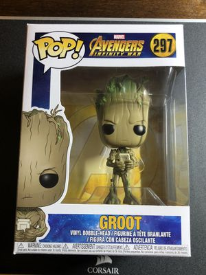 Funko Pop! Avengers Groot with Video Game Toys R Us Exclusive #297 - Rare for Sale in Whittier, CA