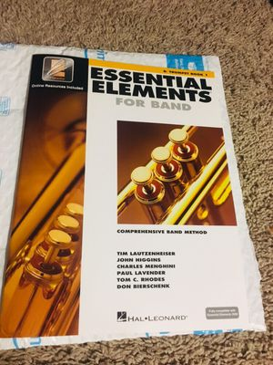 Essential Elements For Band Trumpet Book 1 for Sale in Vista, CA