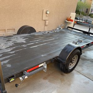 2019 Heavy Duty Trailer 6x14 With Brakes And Ramp for Sale in Henderson, NV