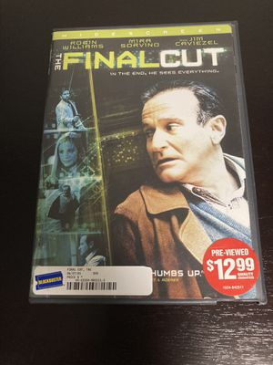 The Final Cut DVD for Sale in Issaquah, WA