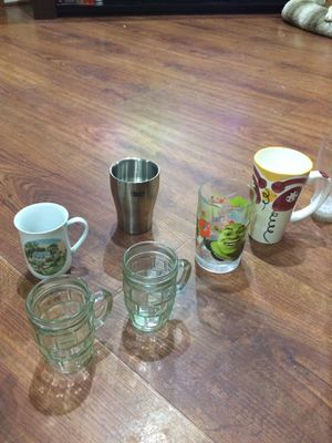 Cups and kids size glasses for Sale in Manassas, VA