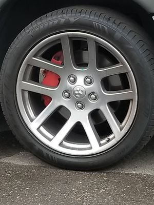 22 inch Dodge Ram 1500 SRT rims with tires for Sale in Renton, WA