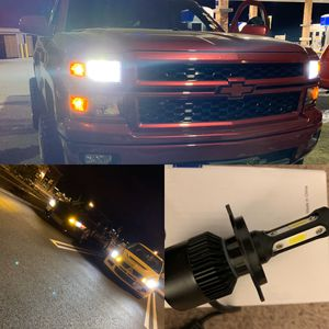 Car led headlights kit leds kits are super bright lights H1 H7 H8 H9 H10 H11 9003 9005 9006 9007 H13 880 9145 9140 5202 for Sale in Colton, CA