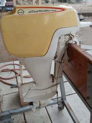 Vintage Sears Ted Williams 7.5hp Outboard Motor for Sale in Lake Elsinore, CA