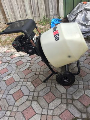 MultiQuip MixnGo gas powered concrete mixer for Sale in West Palm Beach, FL