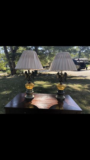Two vintage eagle lamps for Sale in Alexandria, VA
