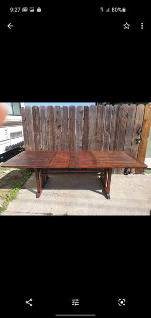 Teak veranda patio set + Smith and Hawker Rockkng chair for Sale in Oakley, CA