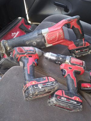 Milwaukee 18 volt tool combo for Sale in LOS RNCHS ABQ, NM