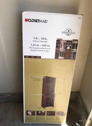 Closet organizer. NEW in box. Unopened. for Sale in Canyon Lake, CA
