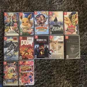 Nintendo Switch Games For Like New Take All Or Individuals No Low Balling for Sale in Denver, CO