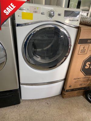 🌟🌟Delivery Available Electric Dryer Whirlpool With Pedestal #1065🌟🌟 for Sale in Orlando, FL