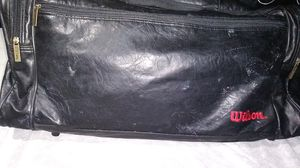 Nice leather duffle bag Wilson 15 bucks or best offer for Sale in Columbus, OH