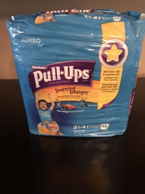 Huggies Pull Ups (4 packs) for Sale in Frederick, MD