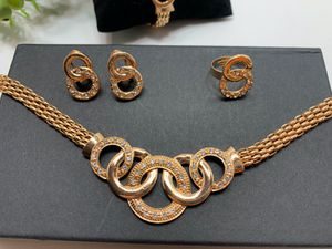 Jewelry Set, 18K Gold Plated, 5 Piece for Sale in Tustin, CA
