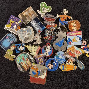 Assorted Disney Pins, set of 25, Pack #1 for Sale in San Diego, CA