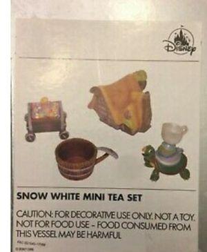 Disney Snow White Mini Tiny Tea Set for Sale in Rialto, CA