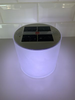 Inflatable solar powered LED light for camping, hiking, for Sale in Scottsdale, AZ