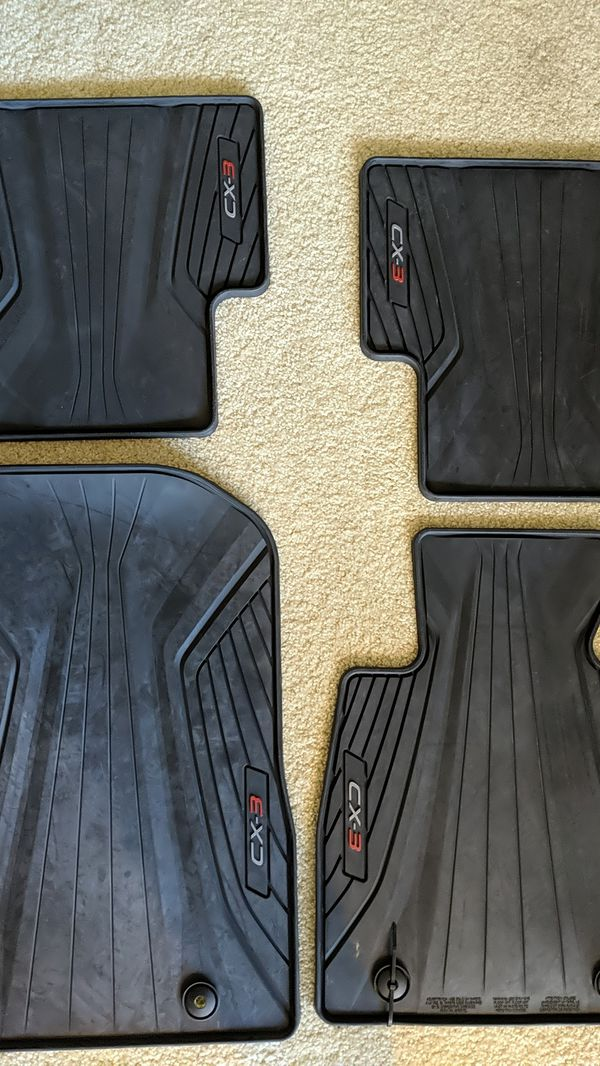 OEM Mazda CX-3 all weather mats (pending pick up)