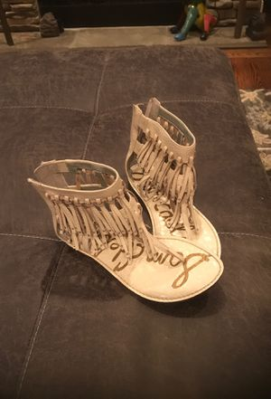 Sam Edelman fringed sandals. Size 7.5 and only worn once. Excellent condition. Original price $125. for Sale in Greensboro, NC