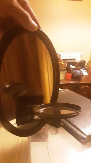 White Barn Candle Company bronze mirror candle holder for Sale in Glendale, AZ