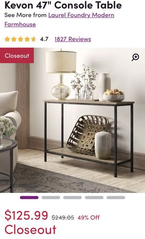 Console Table - New in Box - Never Opened for Sale in Pembroke Pines, FL