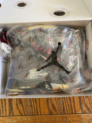 Off White Jordan 5 for Sale in Washington, DC