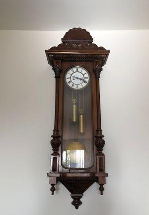 Gustav Becker Antique Vienna Regulator Clock for Sale in Santa Monica, CA