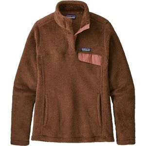 Patagonia Women's Re-Tool Snap-T Pullover Sweater - Moccasin Brown - Retail $120 for Sale in Kennedale, TX