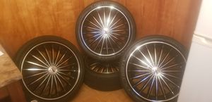 "22"" Velocity rims black & machine for Sale in Rotterdam, NY"