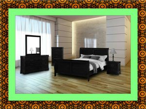 11pc black bedroom set free delivery for Sale in Gambrills, MD