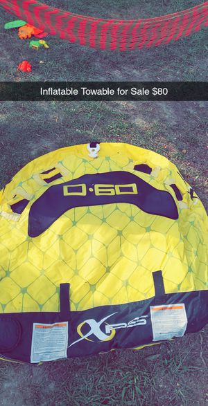XPS D-60 Inflatable Boat Towable for Sale in Cedartown, GA