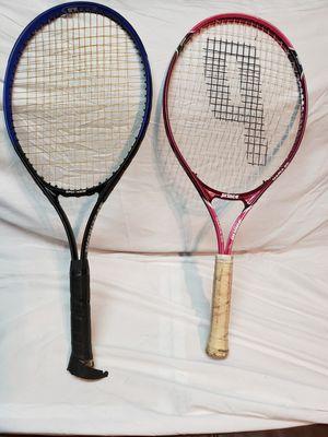 2 tennis Rackets Prince n Spectrum for Sale in Lakewood, CA
