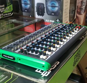 Pro Bass 16 channel mixer, with USB, and bluetooth. Brand new for speaker and microphone. Nationwide. for Sale in Miami Springs, FL
