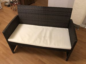 Outdoor love seat for Sale in Washington, DC