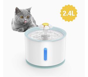 Cat water fountain with 7 extra filters for Sale in Huntington Beach, CA