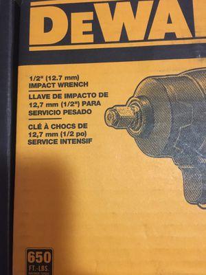 "Dewalt 1/2"" (12.7mm)impact wrench for Sale in Odessa, TX"