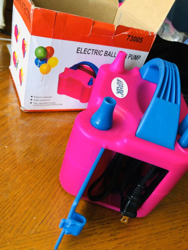 Electric ballon pump