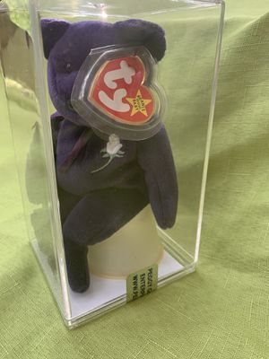 "ty beanie ""Rare"" princess diana in Certified case sealed (collectible) for Sale in Joliet, IL"