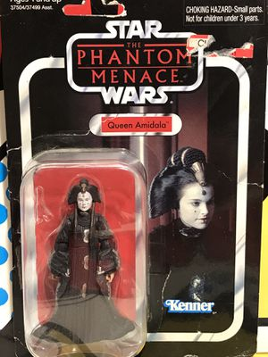 STAR WARS VINTAGE COLLECTION THE PHANTOM MENACE QUEEN AMIDALA ACTION FIGURE for Sale in Hesperia, CA