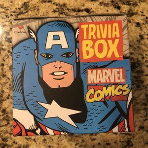 NIB Marvel Comics Trivia Box Game for Sale in Orlando, FL